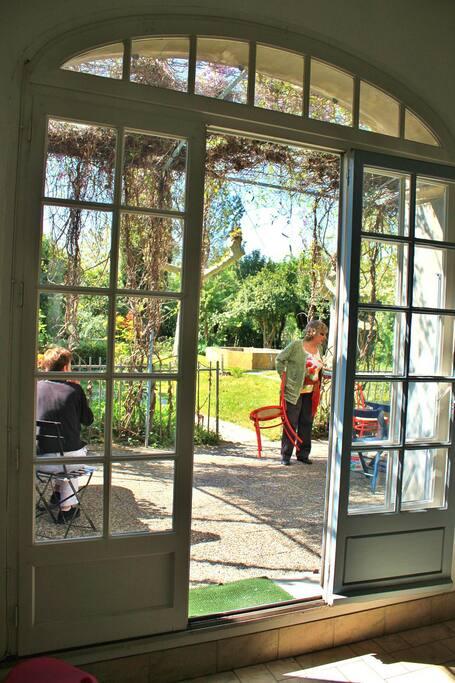Maison jardin dans mont limar 10p maisons louer for Cuisine qui donne sur le jardin
