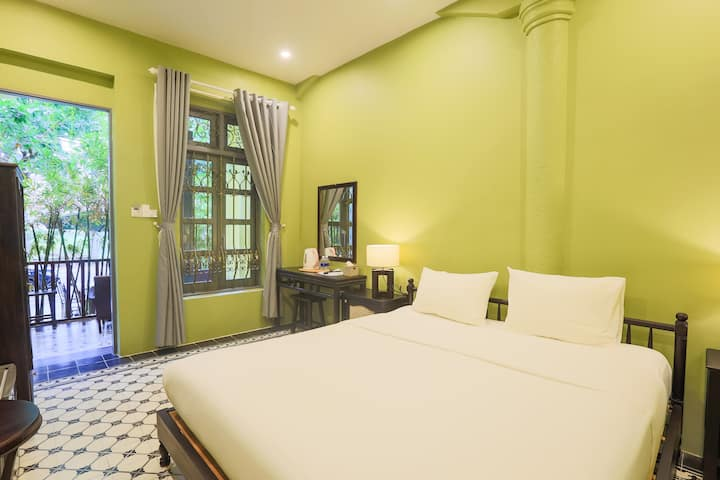 Pick up airport★GreenVilla★Near Beach★Double room
