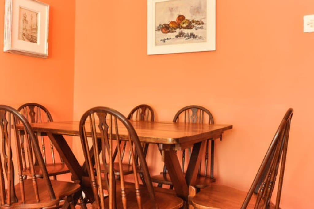 Sala + mesa de jantar