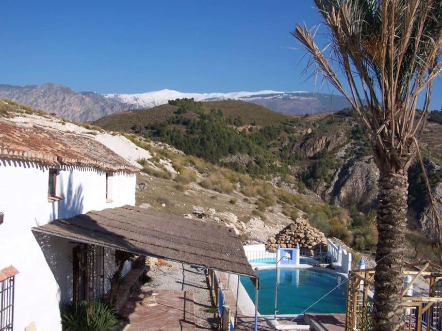 Casa andaluza cortijo maisons louer grenade for Casa andaluza