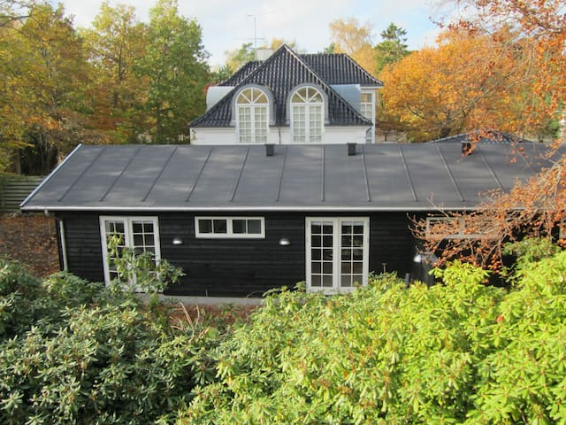 New annex in cottage style - Hornbaek - Penzion (B&B)