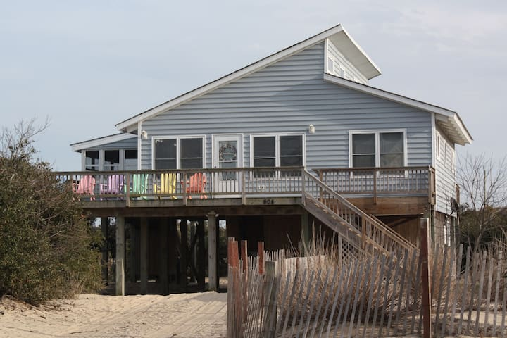 Quaint Beach Cottage in 4WD-OBX - Corolla - Talo