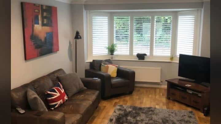 Room in spacious modern detached house