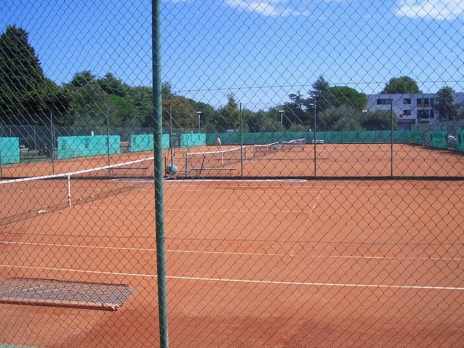 Tennis center, 100 m near the apartment