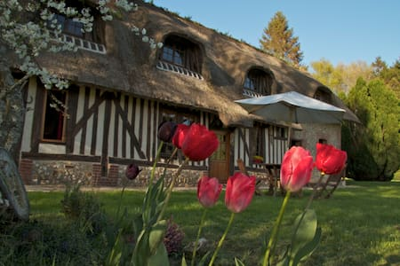 LA LANDE thatched-roof cottage - Bed & Breakfast