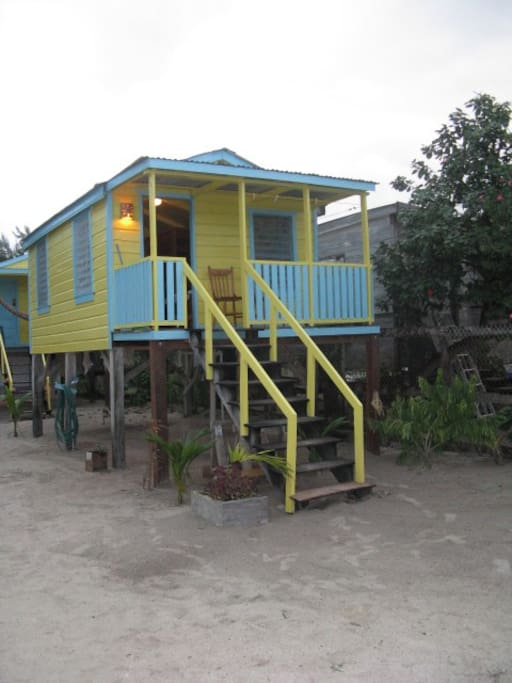 TYPICAL CABANA WITH PORCH AND HAMMOCK