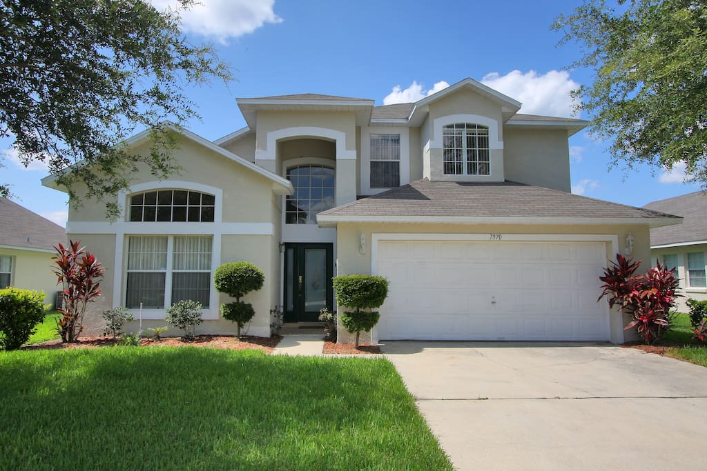 Orlando Villa 5 Minutes From Disney Villas For Rent In