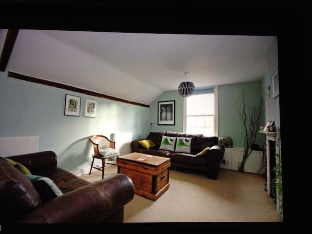Double room in listed apartment - West Malling - Apartamento