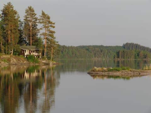 Kallioniemi - Domek letniskowy, sauna, grill, wifi
