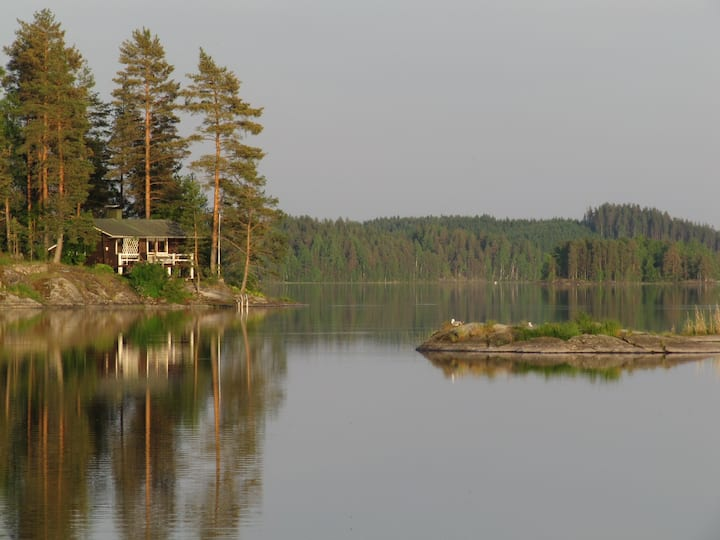 Kallioniemi - Summer cottage, sauna, grill, wifi
