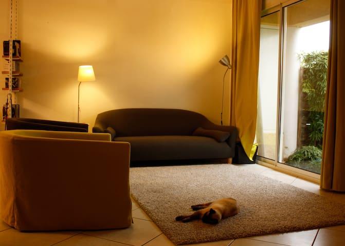 Chambre double dans villa à Montpellier