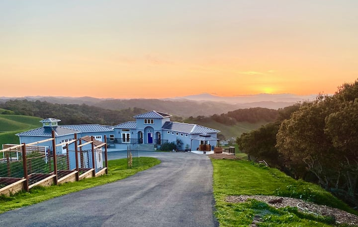 Bellacollina Farms ~ Luxurious Briones Retreat