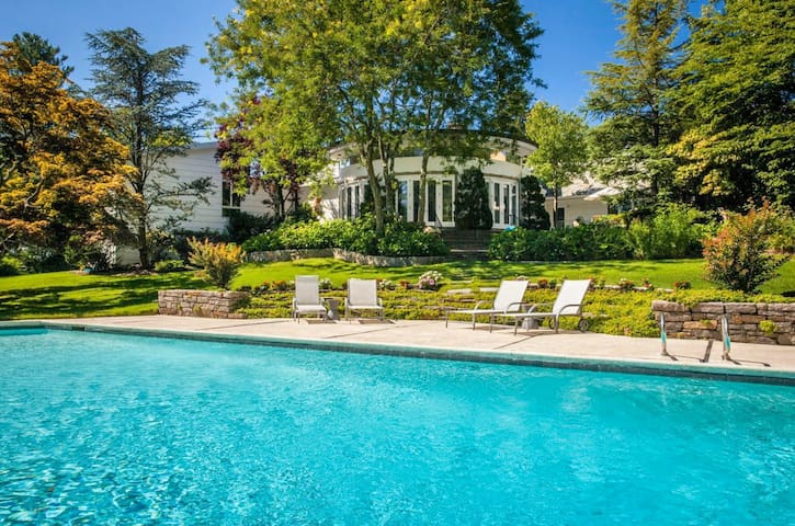 Vacation Suite-1.2Acre Garden, Winged Foot US Open