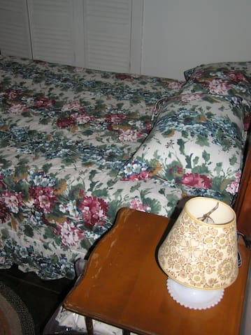 Bedroom #1 - downstairs - double bed