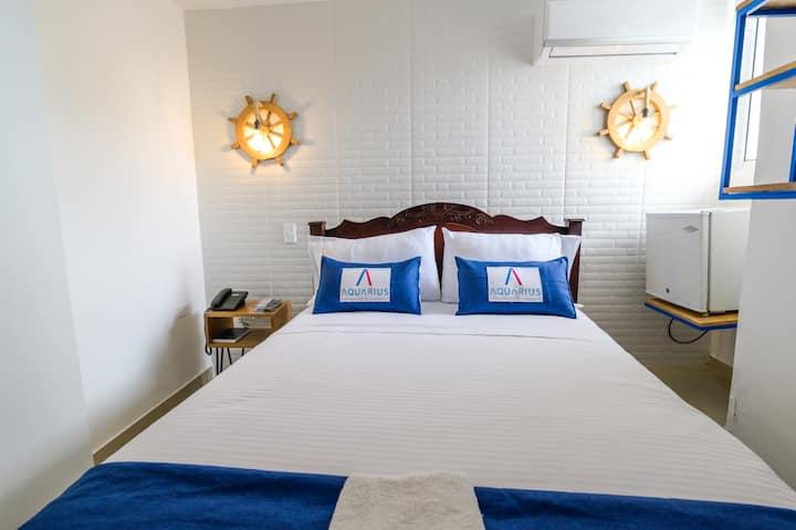 Hotel Aquarius Barranquilla-HABITACION MATRIMONIAL