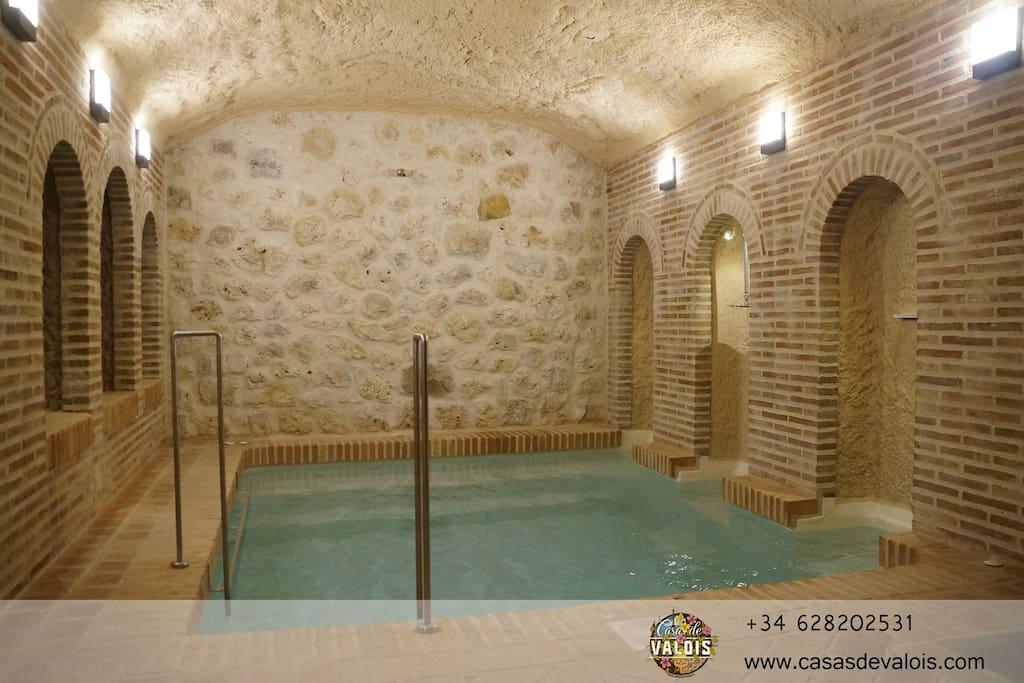 Zonas comunes-piscina-spa