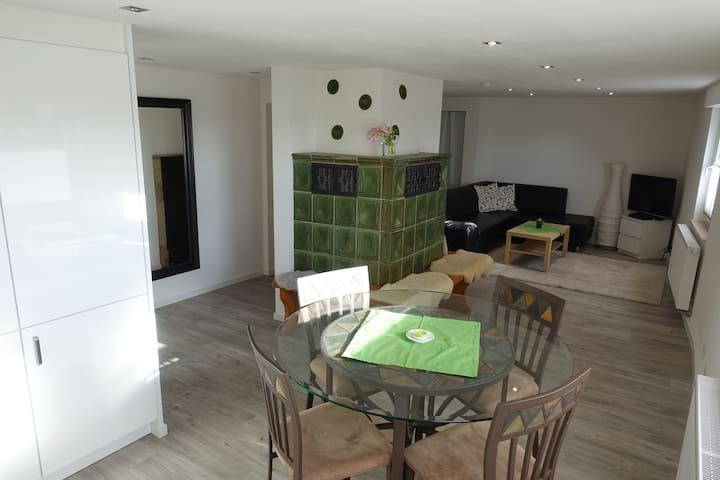 Marbach: 2-Zimmer-Wohnung im Gästehaus Neckarblick