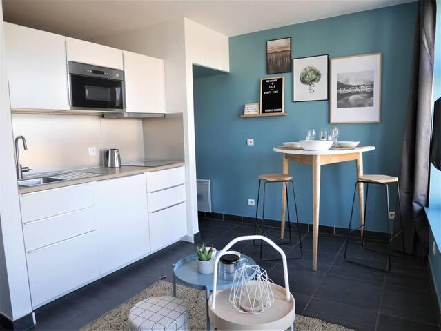 "Studio haut de gamme, vieux Lille ""Sören Room"""