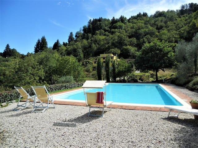 Tuscan farmhouse near Lucca with huge private pool