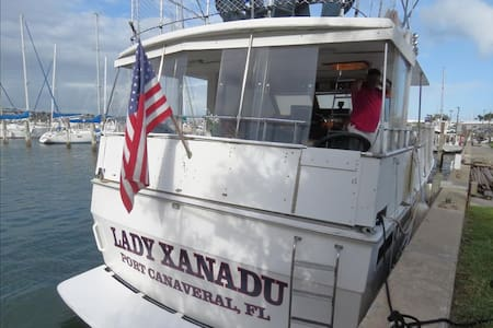 Yacht Lady Xanadu:  Kick Back and Relax on this Fabulous Private Yacht! - Merritt Island - Casa