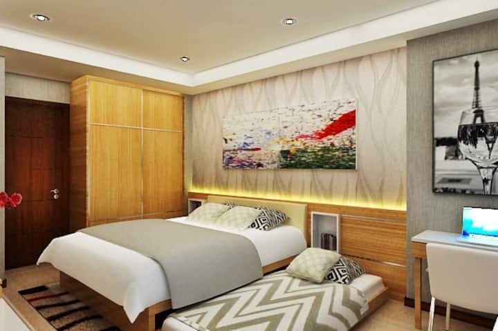 808 Sqft: 2 Bedrooms Seaside Condo w/ Oceanview.