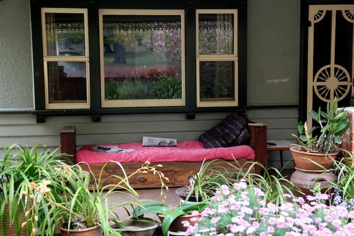 ...the front veranda