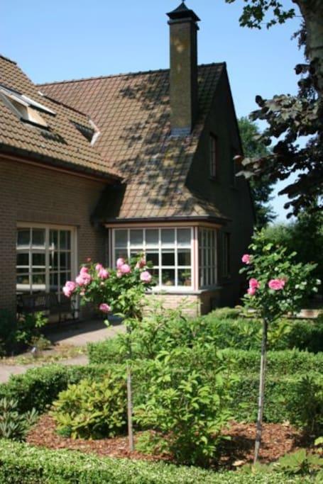 Huis met tuin