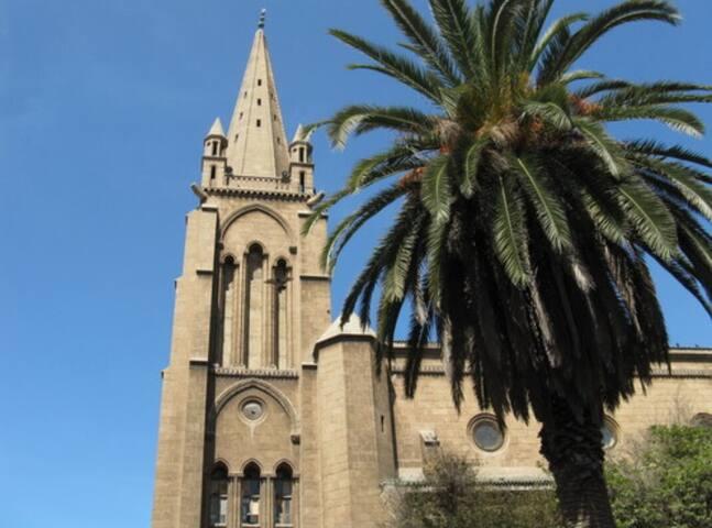 Mosquee Alqods,Ex Eglise Saint Marguerite Roches Noires