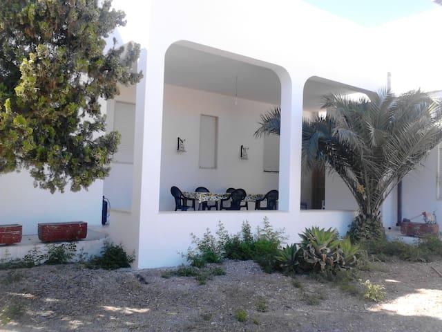 veranda su giardino interno