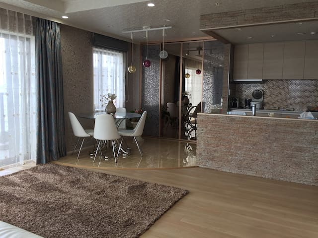luxury apartment in a luxury house with stunning - Kōtō-ku - Wohnung