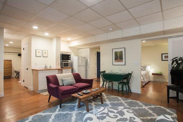 Fabulous Apartment - Walk/Bike to Duke