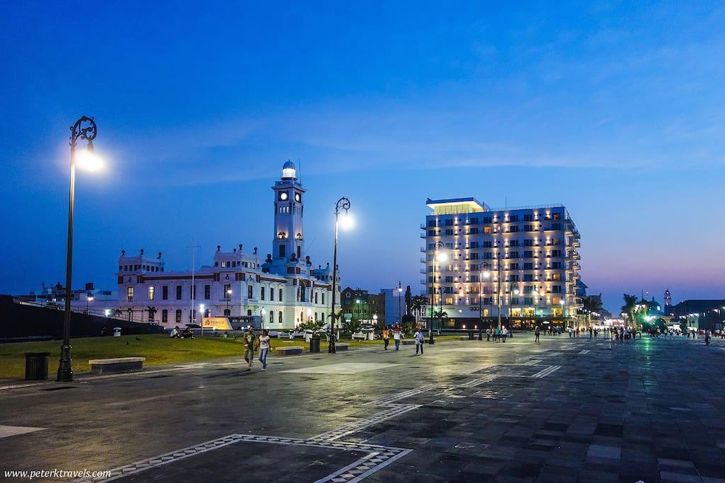 El Malecón de Veracruz