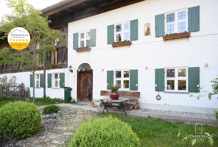 5 Sterne-Gut Stohrerhof  bis 11 Pers. am Ammersee