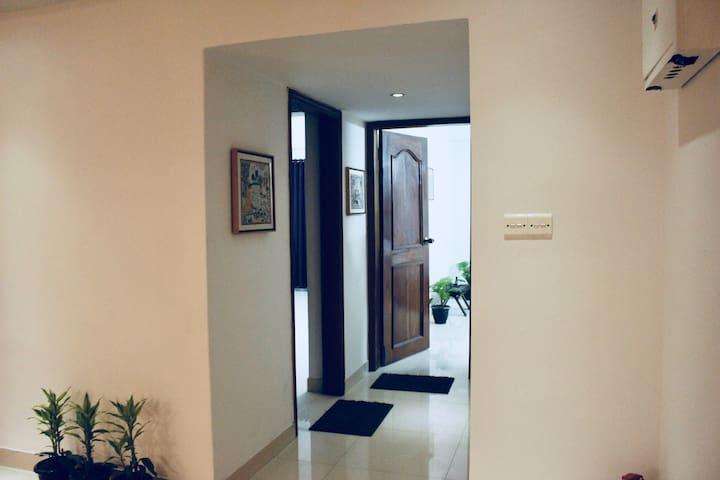 Private Bedroom Entrance