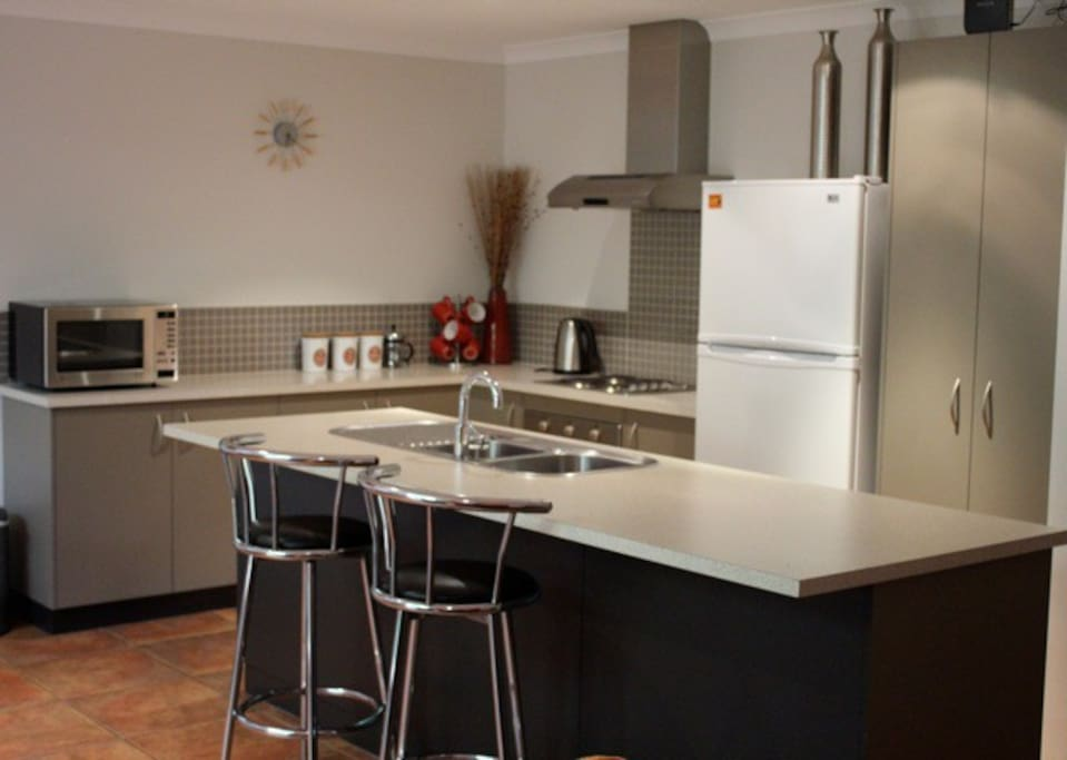 Modern kitchen with all your needs