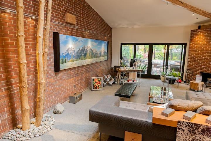 EcoLuxury MidCentury Remodel - Bloomfield Hills - Casa