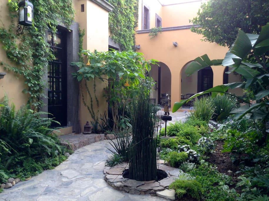 El jard n del ciervo vigilante apartments for rent in for Jardin san miguel de allende