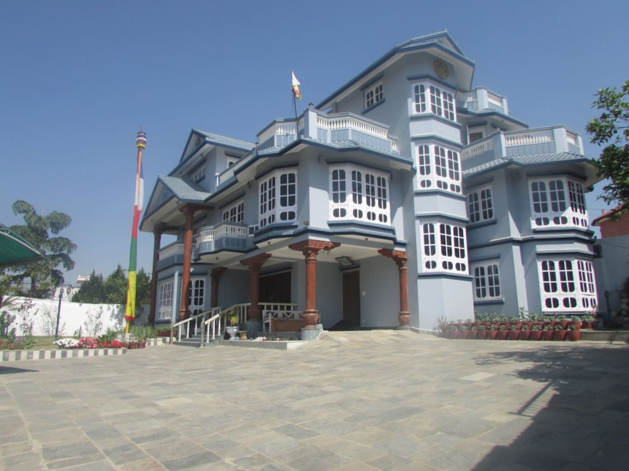 Himalayan Sherpa Residence, where we stay and provided some space for rental within family environment.