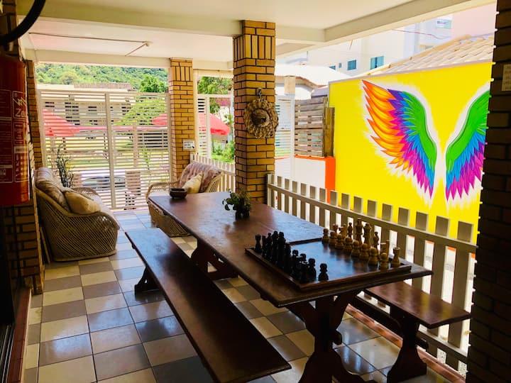 Quatro Ilhas Beach Hostel (quarto masculino)