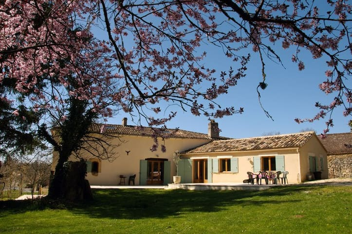 Beautiful villa with pool in France - Lacapelle-Biron - Vila
