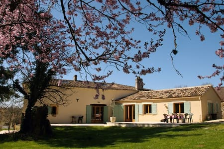 Beautiful villa with pool in France - Lacapelle-Biron - Casa de camp