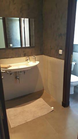 Toilettes de la réception
