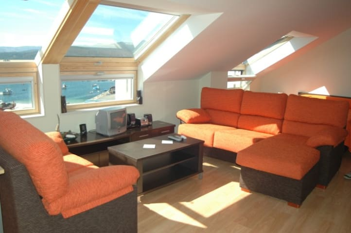 Portosín Penthouse,sea viewsParking