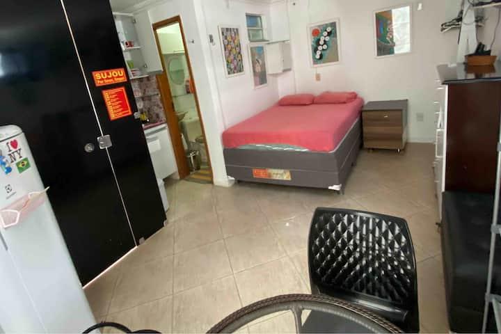 Studio mobiliado no UMARIZAL. Localização ótima