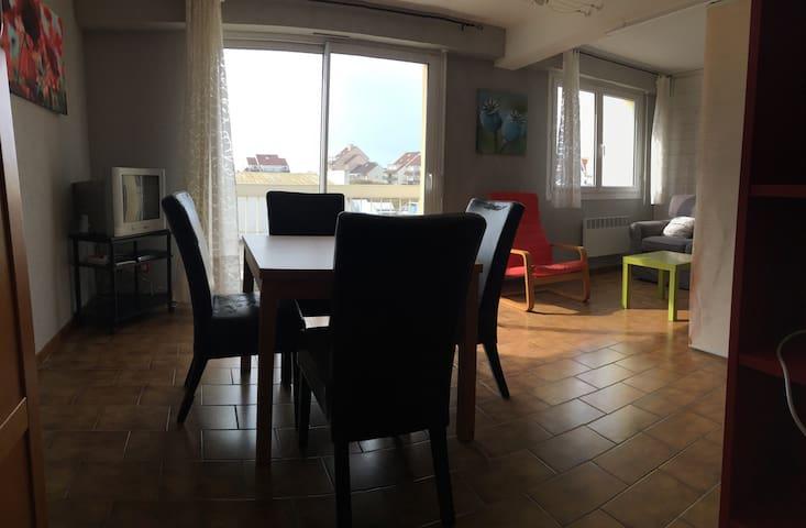 T2 de 50m2, plein centre, à 200m de la plage - Neufchâtel-Hardelot - Byt