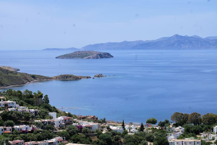 Modern with fantastic sea views - Bodrum - Apartamento