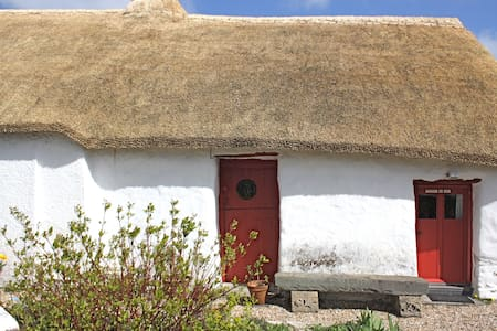 Thatch cottage retreat nr to coast. - Felinfach