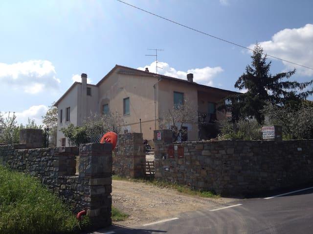 B.M.G.lejligheder i Landhus Toscana - Battifolle-Ruscello, Arezzo - Huoneisto
