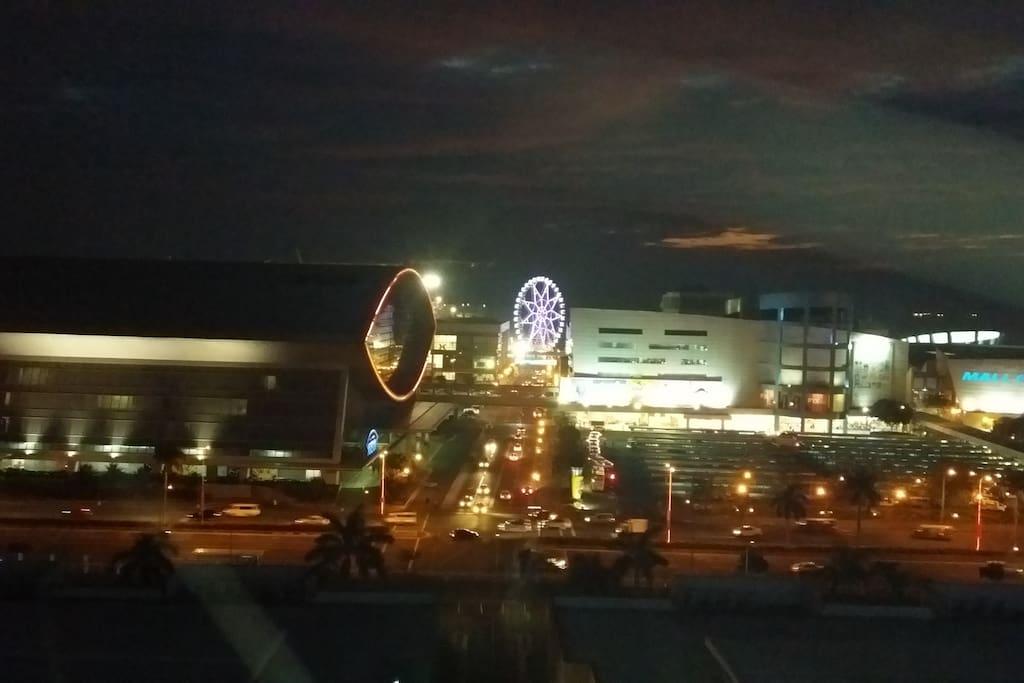 MOA Arena & MOA Eye view.