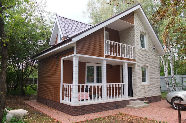 Room in two-stored detached house - Domodedovo - Casa